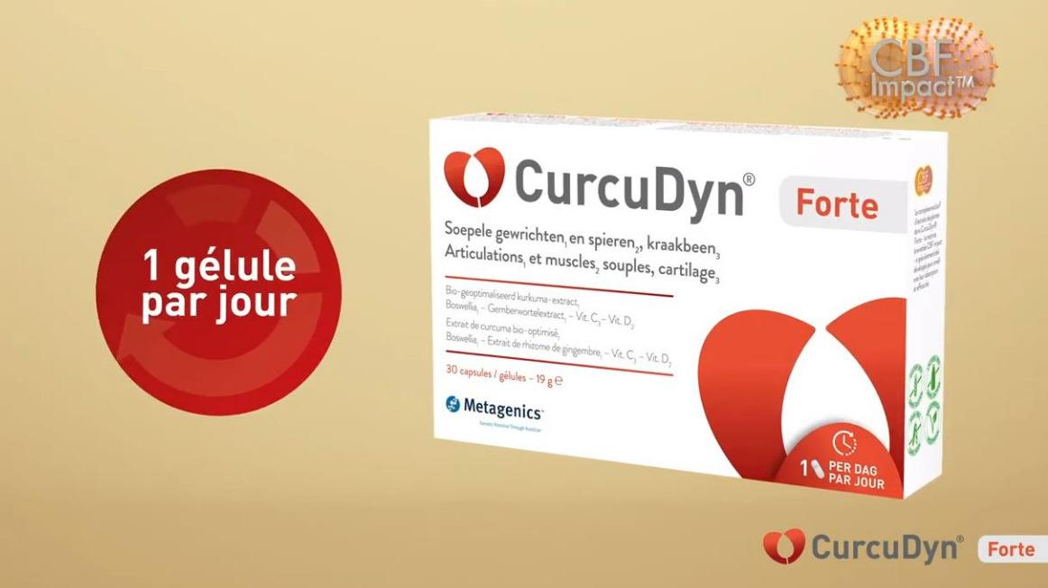CurcuDyn Forte - 1 gélule par jour